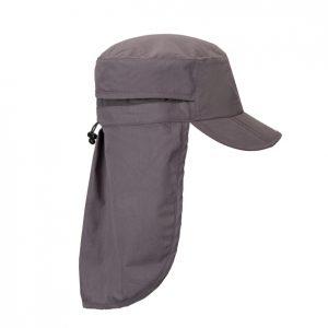 כובע עם מגן עורף להדפסה