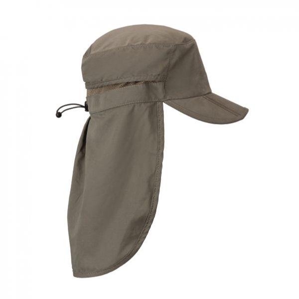 כובע עם מגן עורף ללא הדפס