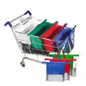 שופינג - סט סלי קניות לעגלה | תיקים למחשב | תיקים מעוצבים | תיקים לים