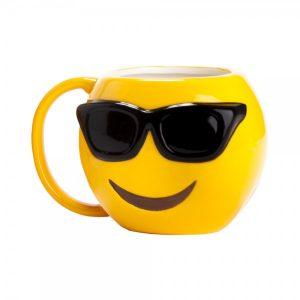 מוג'י שמש - ספל מעוצב אמוג'י | בקבוקי שתייה | כוסות | ספלים | כוסות לשתייה חמה